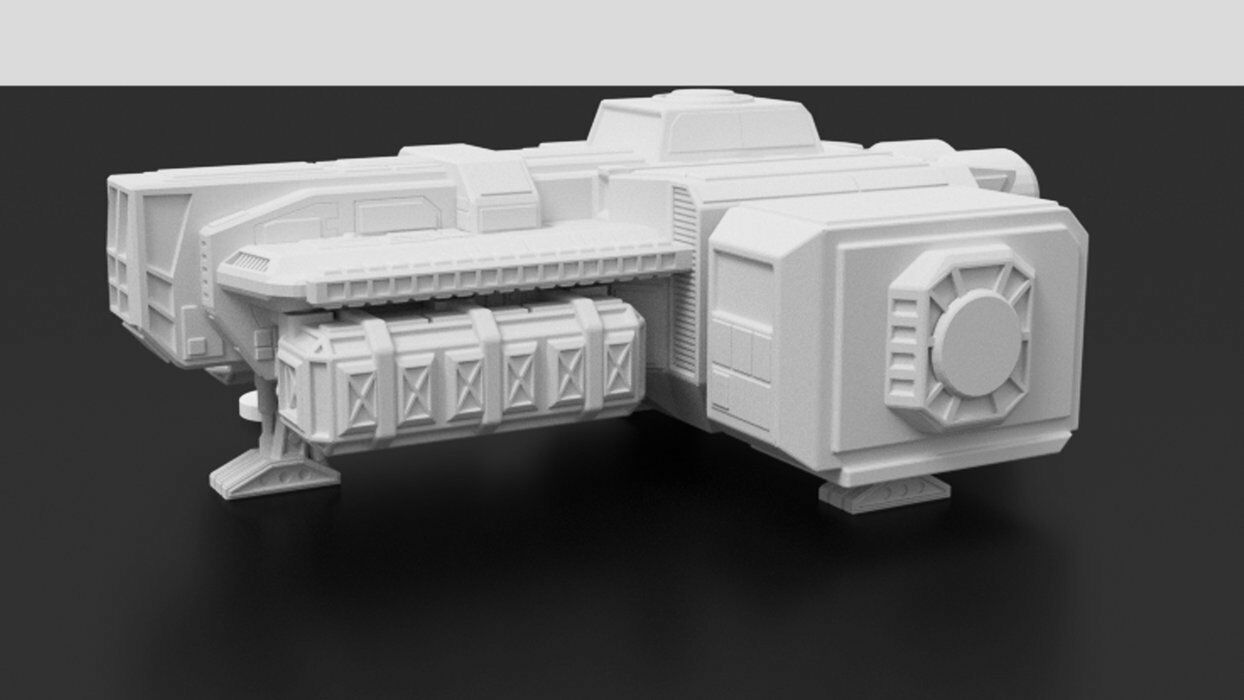 Corvus Games Light Freighter
